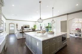 large kitchen island large square kitchen island gray kitchen features a pair of gray