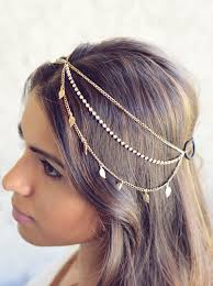 hair accessories for indian weddings the karma new gold leaves rhinestone indian boho bohemian