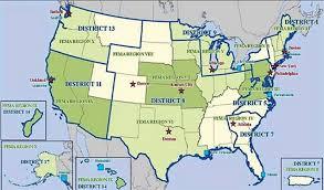 fema region map call handbook 11 07 index to disaster response staff officer s