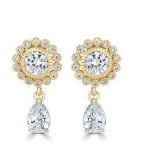 gold earrings for wedding teardrop silver earrings wedding earrings