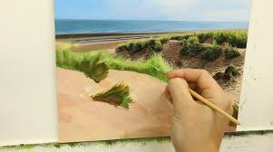 44 painting sand dunes youtube