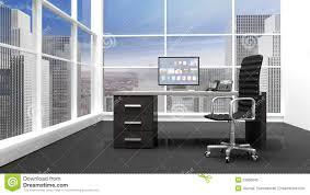 bureau d architecture d int ieur intérieur d un bureau moderne illustration stock illustration du