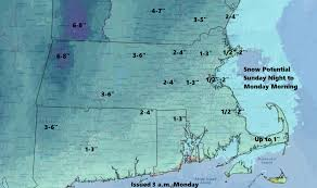 Snow Depth Map New England by Forecast As Snow Changes To Rain Watch For Messy A M Commute