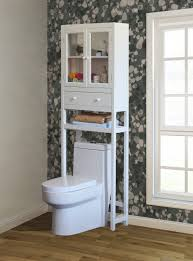 bathroom great space saver over the toilet cabinet two small