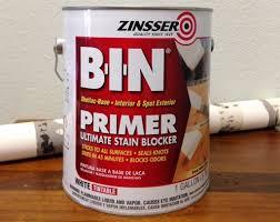 best stain blocking primer for cabinets zinsser bin primer review primer for kitchen cabinets
