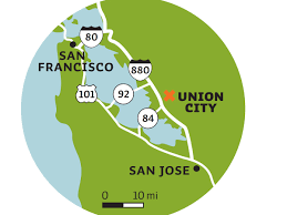 Map Of Bart In San Francisco by What To Do In Union City Sunset