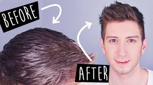 non hairstyles 3 tricks to mattify greasy hair men s hairstyles youtube