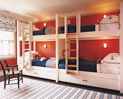 comfortable kids bunk beds with stairs and slide for small kids