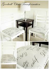 Fabric Ideas For Dining Room Chairs by Diy Dining Table And Chairs Makeovers U2022 The Budget Decorator