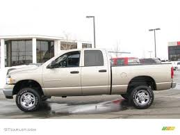 2005 light almond pearl metallic dodge ram 2500 slt quad cab 4x4