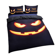 bedroom outstanding halloween theme bedding sheet in king size