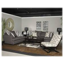 Ashley Leather Sofa And Loveseat Charcoal Loveseat