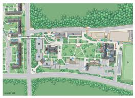 Map Of Baltimore Md Wayfinding City Park And College Campus Map Illustration U0026 Design