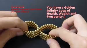 How To Make Magnetic Jewelry - how to make a working magnetic infinity loop youtube