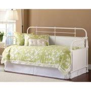 White Daybed With Trundle White Metal Daybeds