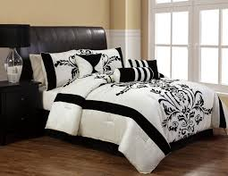 Bed In A Bag King Comforter Sets Surprising Black And White Bed In A Bag King 16 For New Trends