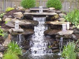 landscaping waterfalls crafts home
