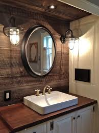rustic bathroom designs industrial farmhouse bathroom vanity