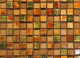 Rusty Brown Slate Mosaic Backsplash by Rusty Brown And Gray Color Slate Mosaic Kitchen Backsplash Tile