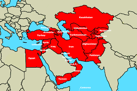 Middle Eastern Map Nuflowme Region Png
