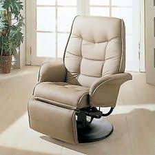 faux leather recliner chairs ebay