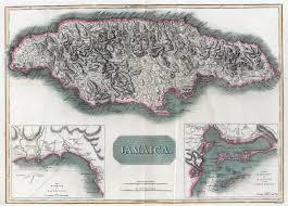 Map Jamaica Jamaica Colony