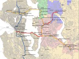 Map Ballard Seattle by Timing Out Ballard To Issaquah Via Sand Point