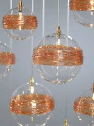 custom blown glass pendant lights custom blown glass chandeliers forkified co