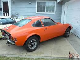 vintage corvette for sale 1972 orange opel gt sports car baby corvette dino ferrari kit