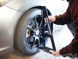 cambered smart car trackside wheel alignment modified magazine
