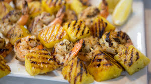 grilled garlic lemon shrimp with pineapple today com