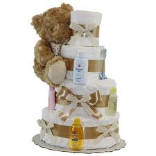 find neutral diaper cakes for every new baby needs