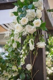 Wedding Flowers Greenery Ceremony Décor Photos White Flowers Greenery On Chuppah