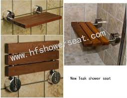 Fold Down Shower Bench Teak Shower Seat Teak Folding Shower Chair