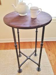industrial style pub table high top table cocktail handmade intended for industrial style bar