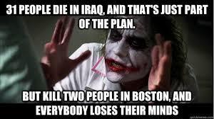 Boston Meme - the joker 2013 boston marathon bombings know your meme