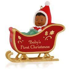 african american hallmark ornaments ebay