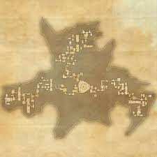 Glenumbra Treasure Map Tes Online Map Of Imperial City