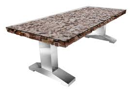 wood block dining table doors tables ideas part 668