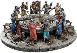 design toscano king arthur and round table figurine u0026 reviews