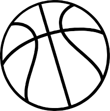just basketball ball coloring page wecoloringpage