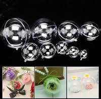 wholesale clear plastic ornament balls buy cheap clear plastic