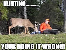 Hunter Memes - lazy hunter