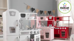kinder spiel küche kidkraft retro küche kinderspielküche weiss rosa rot top