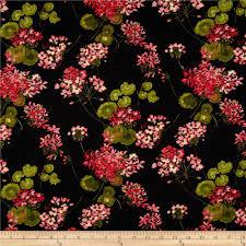 sundance home decor sundance geranium black multi from fabricdotcom designed by ann