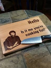 funny cutting boards 9x13 hello is it me you re cooking for cutting board father s day