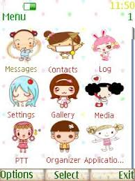 nokia 206 cute themes free nokia asha 206 cute animated doll app download