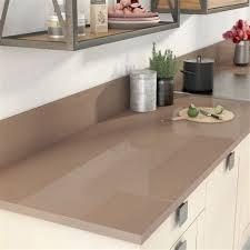 cuisine taupe et bois cuisine taupe et bois 12 plan de travail droit stratifi233 brun