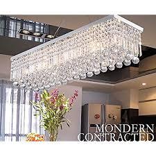 rectangular light fixtures for dining rooms rectangular lighting fixtures amazon com