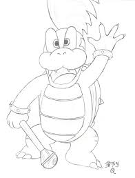 roy koopa coloring pages october 2017 vm